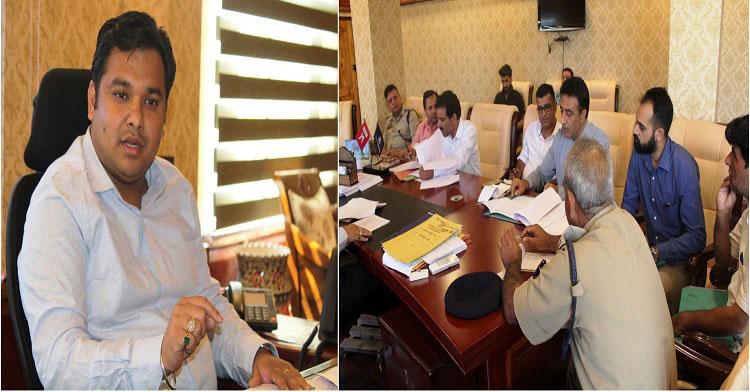 DDC Ganderbal reviews traffic management, road safety plan