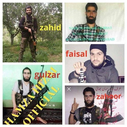 Five militants killed during Qazigund gunbattle