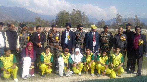 Inter District Women's Cricket Championship 2018 organized at Ganderbal