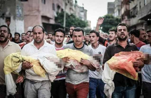 'The world stands disgraced' - Israeli shelling of school kills at least 15