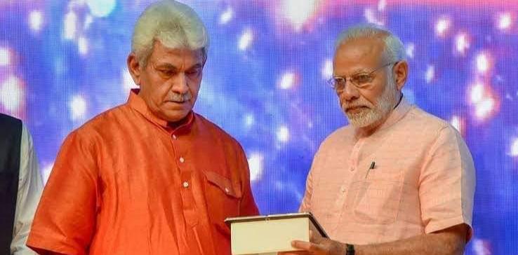 Manoj Sinha appointed as new lieutenant governor of Jammu and Kashmir