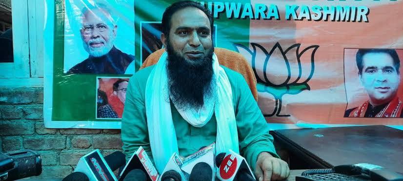 Javid Qureshi not part of BJP
