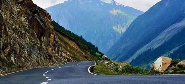 History of Mughal road