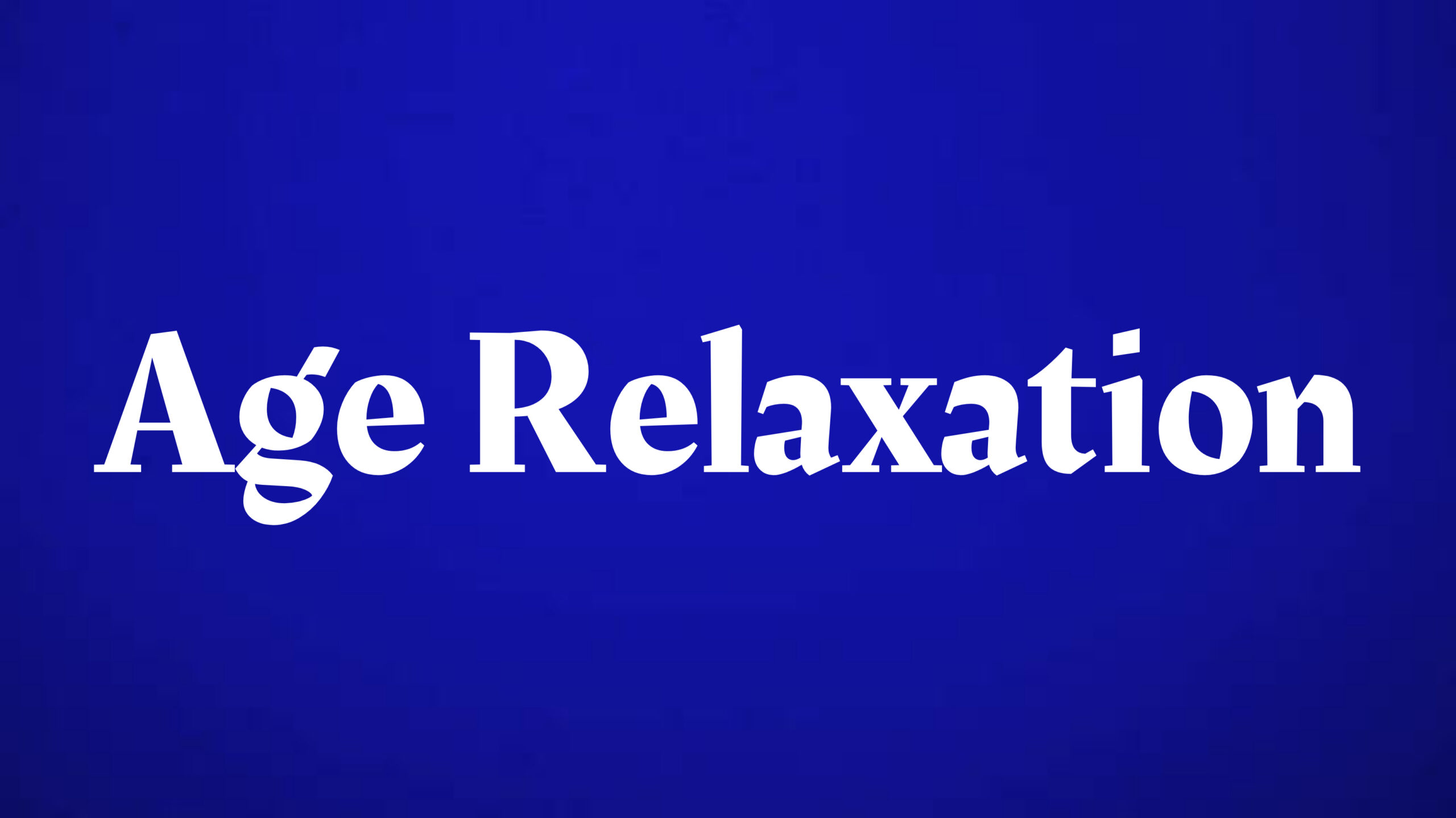 Age relaxation for civil service examination