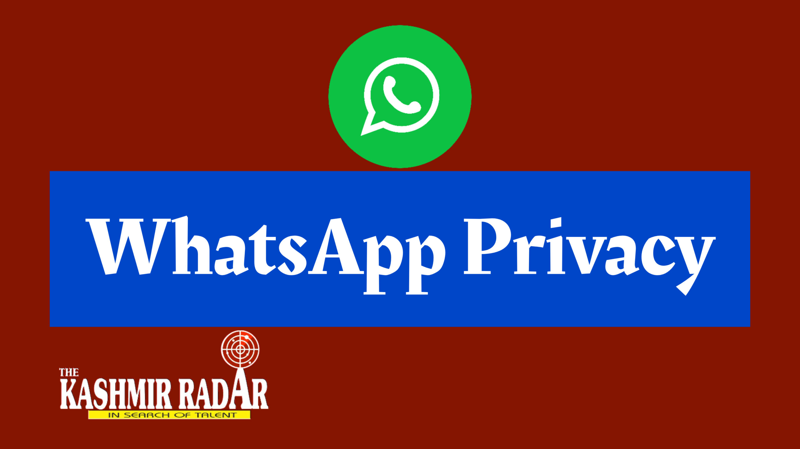 Whatsapp reaches out to users via status, says it values privacy