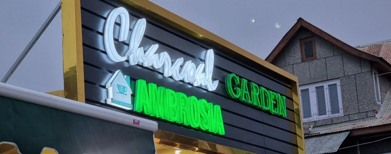 Charcoal Garden Ambrosia inaugurated in Srinagar