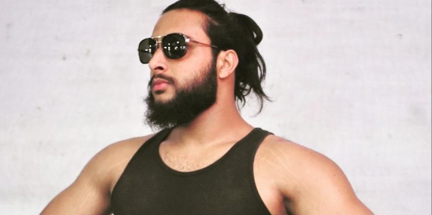 Badshah khan, first professional wrestler from Jammu and Kashmir