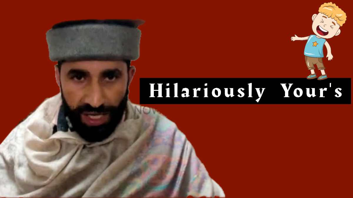 "From ""Yogi Anantnag"" to ""Mamta Benazir"" Muhammad Shafi Continues To Entertain Netizens In Kashmir"